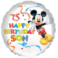 Mickey Mouse Happy Birthday Son