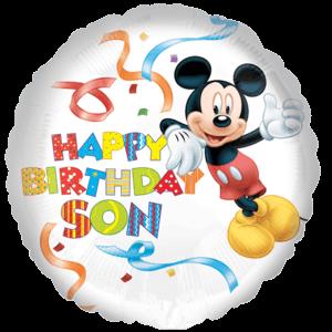 Mickey Happy Birthday Balloon in a Box