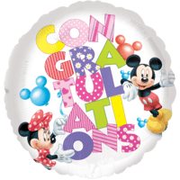 Congratulations Minnie Mouse