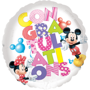 Mickey Mouse Grandson Birthday Balloon in a Box