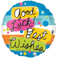 Good Luck and Best Wishes Balloon in a Box