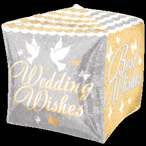 Shimmering Wedding Wishes Shimmering Cubez