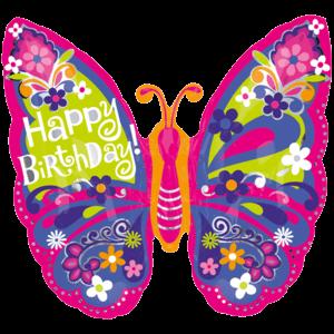 Beautiful Butterfly Birthday