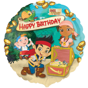 Jake & Pirates Birthday Balloon in a Box