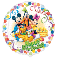 Mickey Mouse Birthday Balloon in a Box