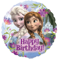 Happy Birthday Frozen Balloon in a Box