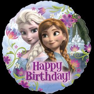 Happy Birthday Frozen Balloon in a Box