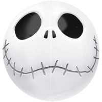 Orbz Jack Skellington Head Balloon in a Box