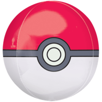 "16"" Pokemon Gotta Catch Em All Pokeball Orbz Balloon in a Box"
