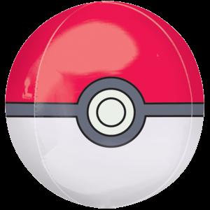"16"" Pokemon Gotta Catch Em All Pokeball Orbz Balloon in a Box"