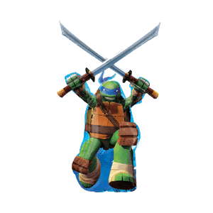 Ninja Turtle Leonardo Balloon in a Box