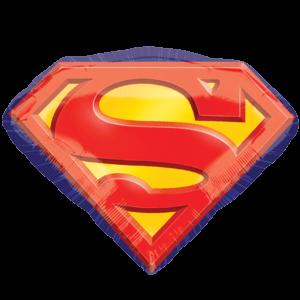 Superman Badge Balloon in a Box