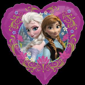 Disney's Frozen Anna and Elsa Love Heart Balloon in a Box