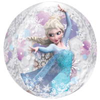 Frozen Elsa Clear  Balloon in a Box
