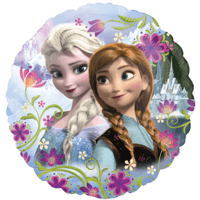 Frozen Anna & Elsa Balloon in a Box