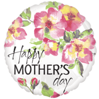Happy Mother's Day Pretty Flowers Balloon in a Box
