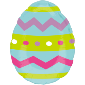Zig Zag Easter Egg Balloon in a Box
