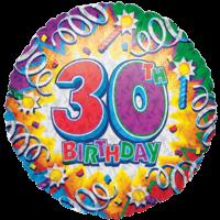 Thirtieth Birthday Razz Balloon in a Box