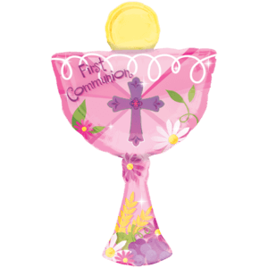 1st Communion Chalice Balloon in a Box