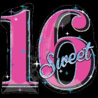 Super Sweet 16 Balloon in a Box