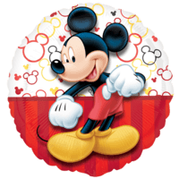 "Mickey Mouse Portrait 18"" Balloon in a Box"