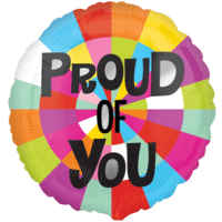 Vibrant Proud of You Balloon in a Box