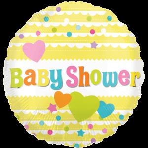 Baby Shower Hearts Balloon in a Box