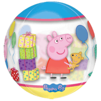 "16"" Peppa Pig Clear Orbz Balloon in a Box"