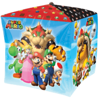 Super Mario Bros Characters Cubez Balloon in a Box