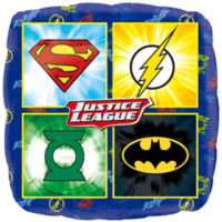 "18"" Justice League Logo Balloon in a Box"