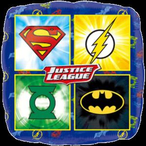 "18"" Justice League Logo Balloon in a Box"