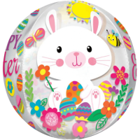 Happy Easter Bunnies Balloon in a Box