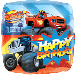 Blaze and the Monster Machines Happy Birthday Balloon in a Box