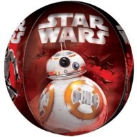 "16"" Star Wars The Force Awakens Characters Orbz Balloon in a Box"