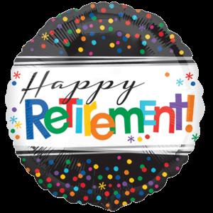 "18"" Happy Retirement! Balloon in a Box"