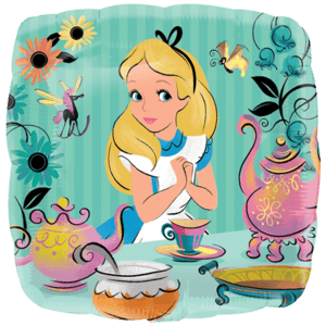 Alice In Wonderland Tea Party Balloon in a Box