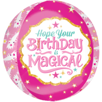 "16"" Magical Birthday Orbz Balloon in a Box"