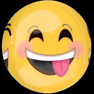 "16"" Cheeky Emojoi Orbz Balloon in a Box"