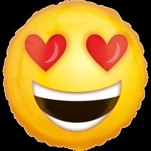 Love Emoji Balloon in a Box
