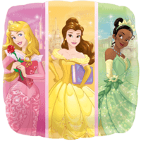 "18"" Colourful Princesses Balloon in a Box"