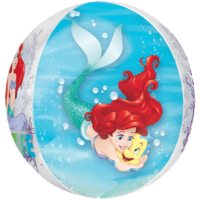 "Ariel Dream Big Clear Orbz 22"" Balloon in a Box"