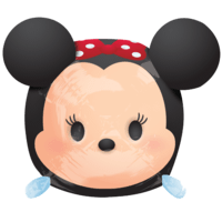 "Minnie Tsum Tsum 19"" Balloon in a Box"