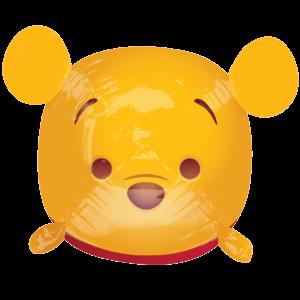 """19"""" Tsum Tsum Winnie the Pooh Balloon in a Box"""