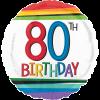 80th Birthday category