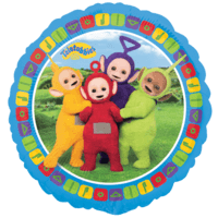 "18"" Teletubbies Group Balloon in a Box"