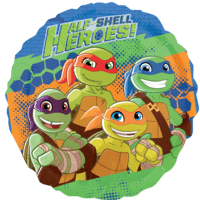 "18"" Half Shell Heroes Friends Balloon in a Box"