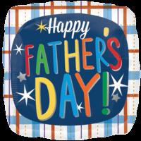 """18"""" Happy Father's Day Multicolour Balloon in a Box"""