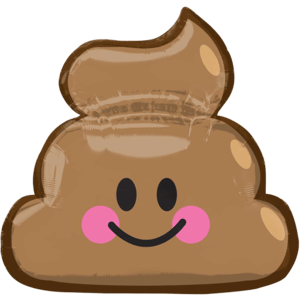 "25"" Happy Poop Supershape"