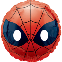 "18"" Spider-Man Face Emoji Balloon in a Box"