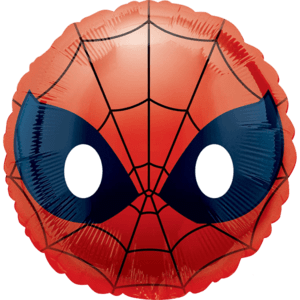 "18"" Spider-Man Face Emoji Balloon in a Box"